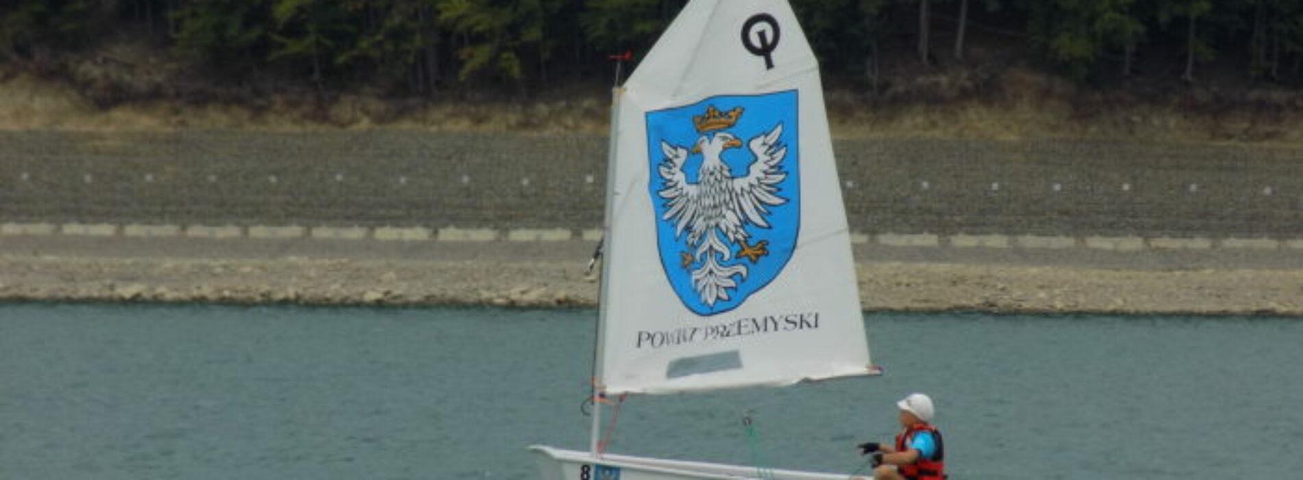 Przemyscy mali żeglarze na podium  w regatach o puchar