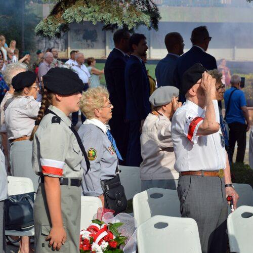 Oddaliśmy hołd bohaterom powstania warszawskiego